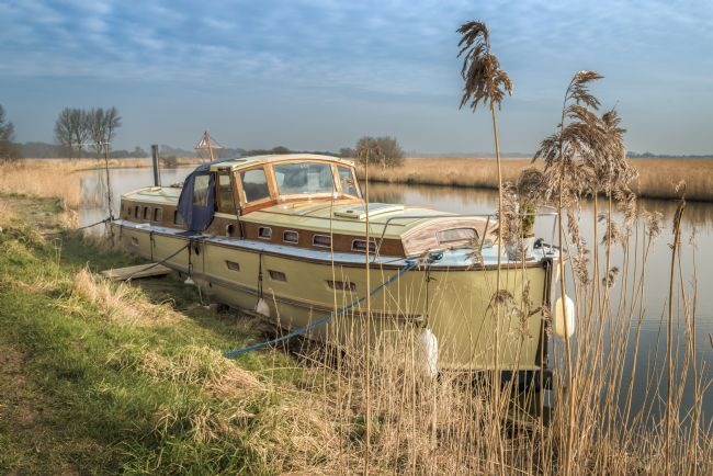 Stephen Mole | Moored on the River Thurne