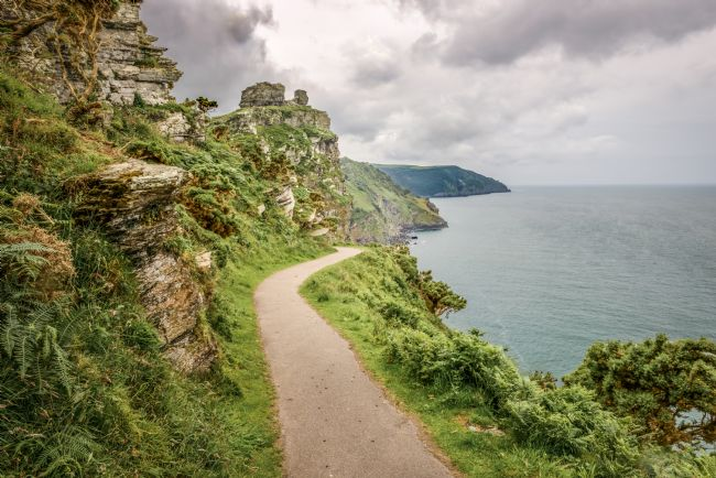Stephen Mole | Footpath at the Valley of the Rocks