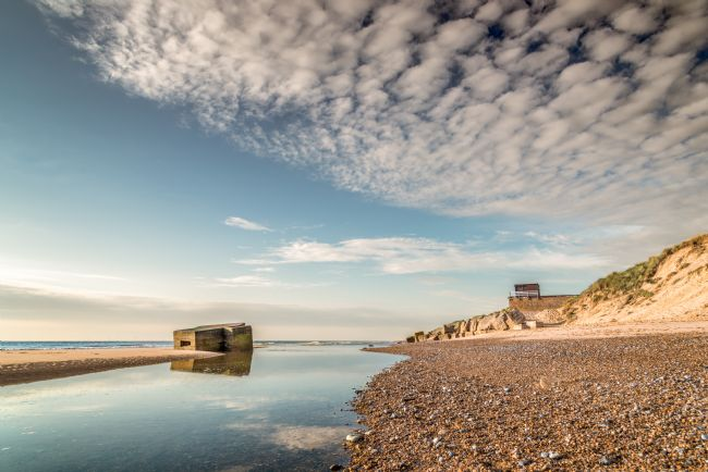Stephen Mole |  Pill Box at Hemsby