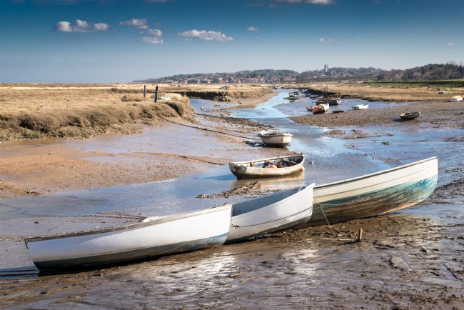 Stephen Mole | Morston Quay low tide