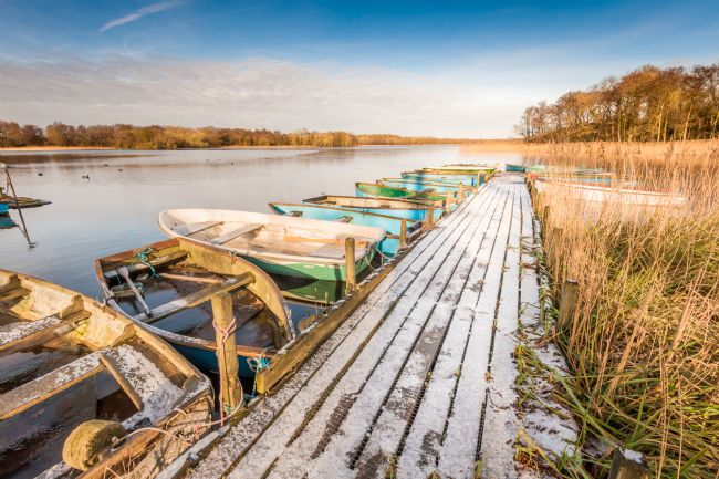 Stephen Mole | Winter at Filby Broad