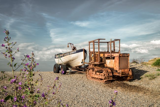 Stephen Mole | Old Tractor at Weybourne