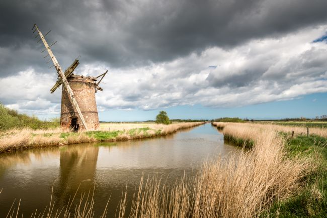 Stephen Mole | Brograve Mill near Horsey