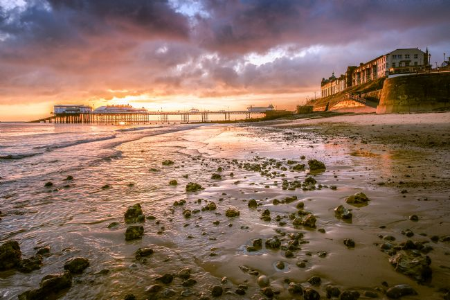 Stephen Mole | Sunrise from Cromer Beach