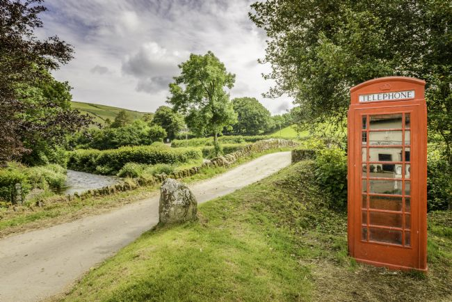 Stephen Mole | Telephone box at Malmsmead Bridge