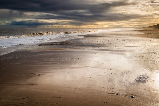 Stephen Mole | Storm on Hemsby Beach