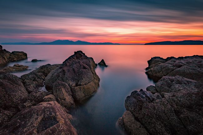 Paul Messenger | Arran Sunset