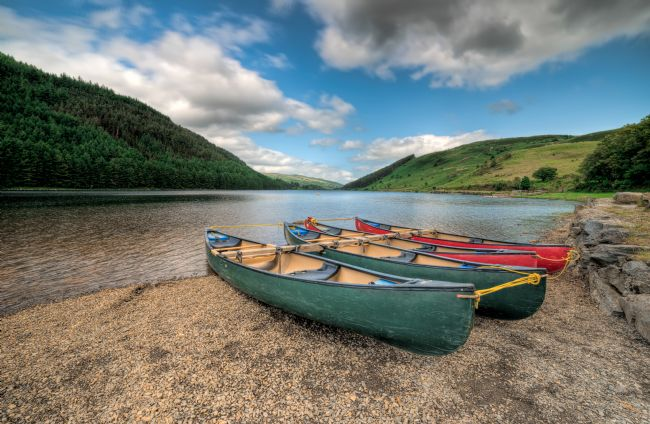 adrian evans | Geirionydd Lake Canoes