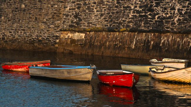 Roz Collins | Early Morning at Mevagissey in Cornwall