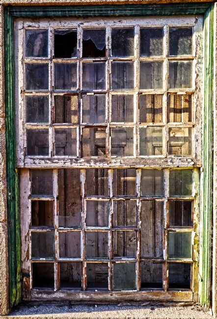 Roz Collins | Vintage Window Abstract