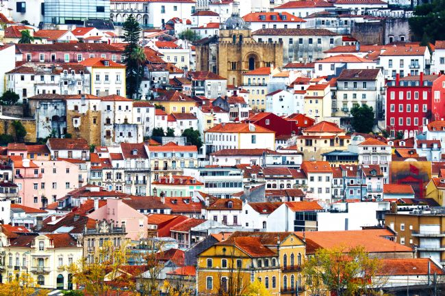 Roz Collins | The Old, The Very Old and The New, Coimbra, Portugal