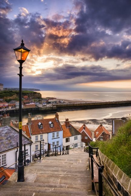 Richard Burdon | Whitby Fom The Steps