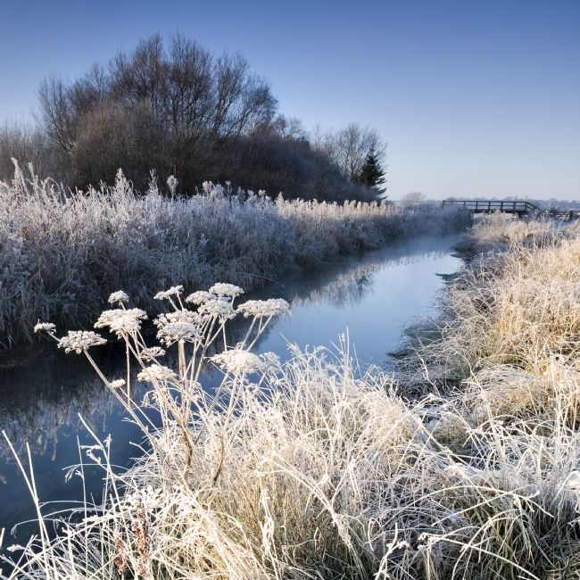 Richard Burdon | Frosty Morning, Costa Beck