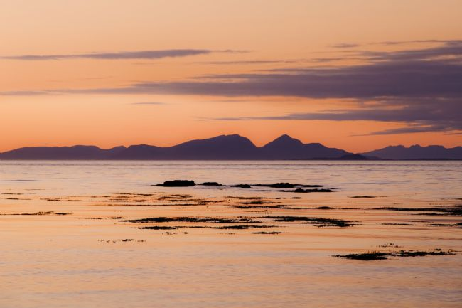 Richard Burdon | Rhum Sunset from Port na Ba
