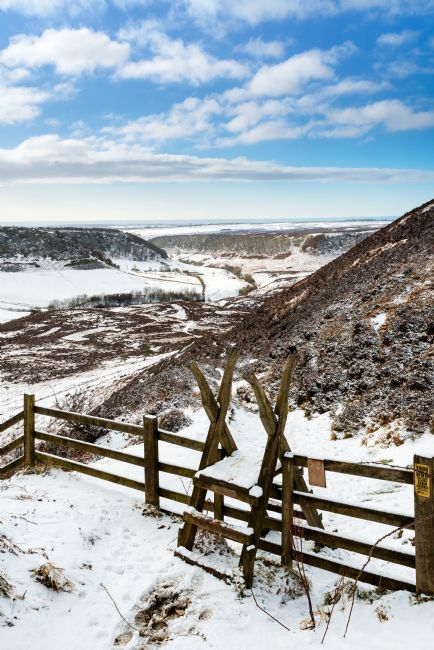 Richard Burdon | Horcum in Winter