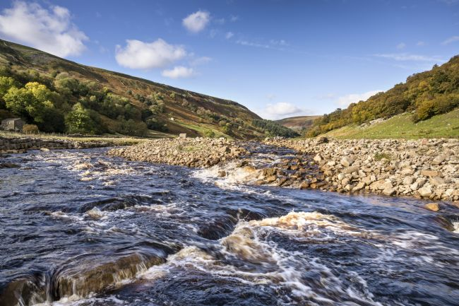 Richard Burdon | The River Swale in Autumn