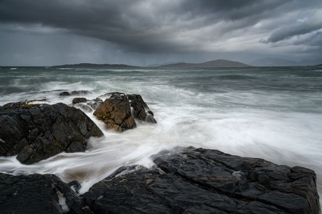 Richard Burdon | A Storm Brewing Over Taransay