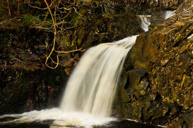 Jacqi Elmslie | Waterfall near Loch Arkaig
