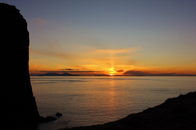 Susan Snow | Silhouette and Sunset at Neist Point