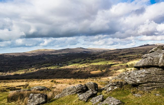 Jean Fry | View from Ingra Tor - Dartmoor