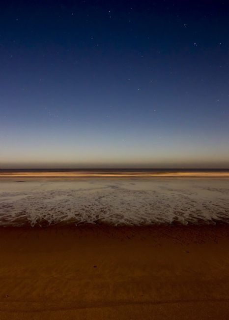 Simon Hookway | Sutton on Sea Beach at night - Lincolnshire