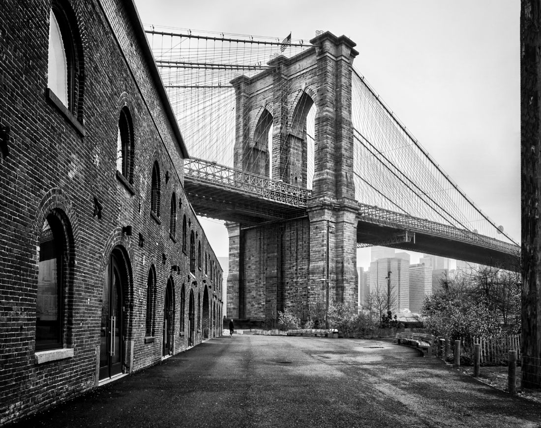 Jan  Murphy | Brooklyn Bridge at Dumbo