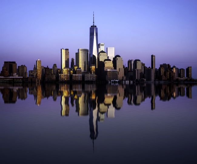 Jan  Murphy | New York Skyline Reflections