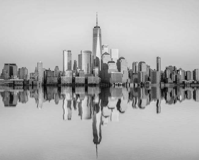 Jan  Murphy | Manhattan Skyline Reflections