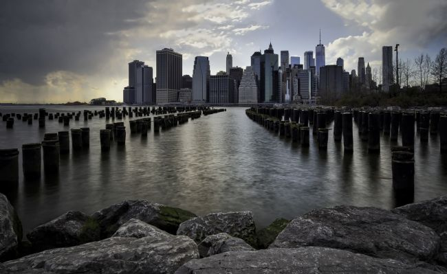 Jan  Murphy | Brooklyn Wood Pilings