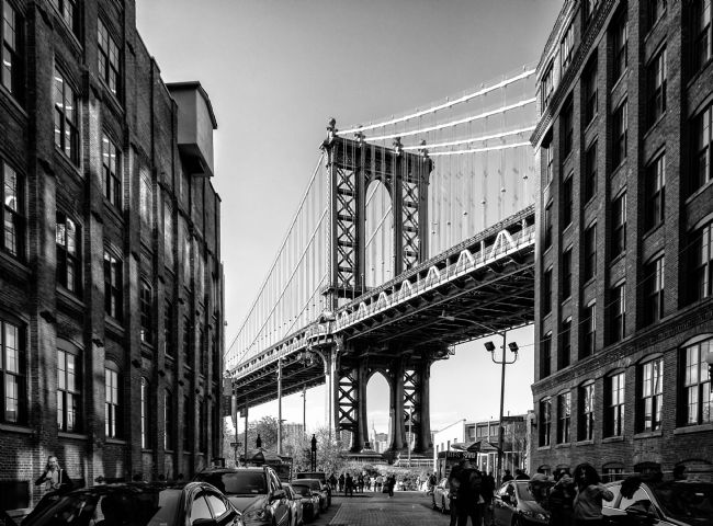 Jan  Murphy | Manhattan Bridge at Dumbo