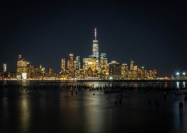 Jan  Murphy | New York Skyline at Night