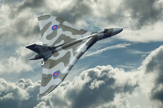 Rob Lester | Avro Vulcan Power climb