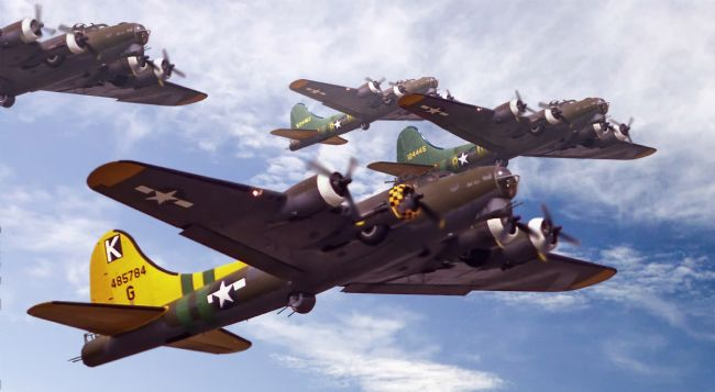 Rob Lester | B17s, Flying fortresses. Sky Warriors