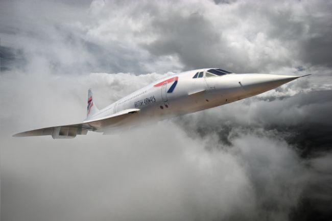 Rob Lester | The Mighty Concorde soars.