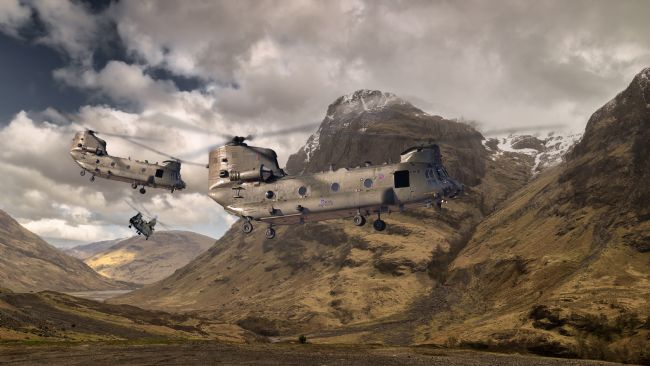 Rob Lester | Chinooks Mountain Sortie