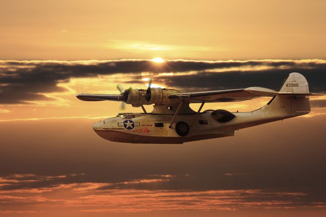 Rob Lester | PBY Catalina Sunset