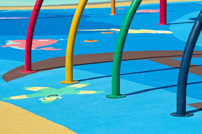 Howard Corlett | Playground abstract