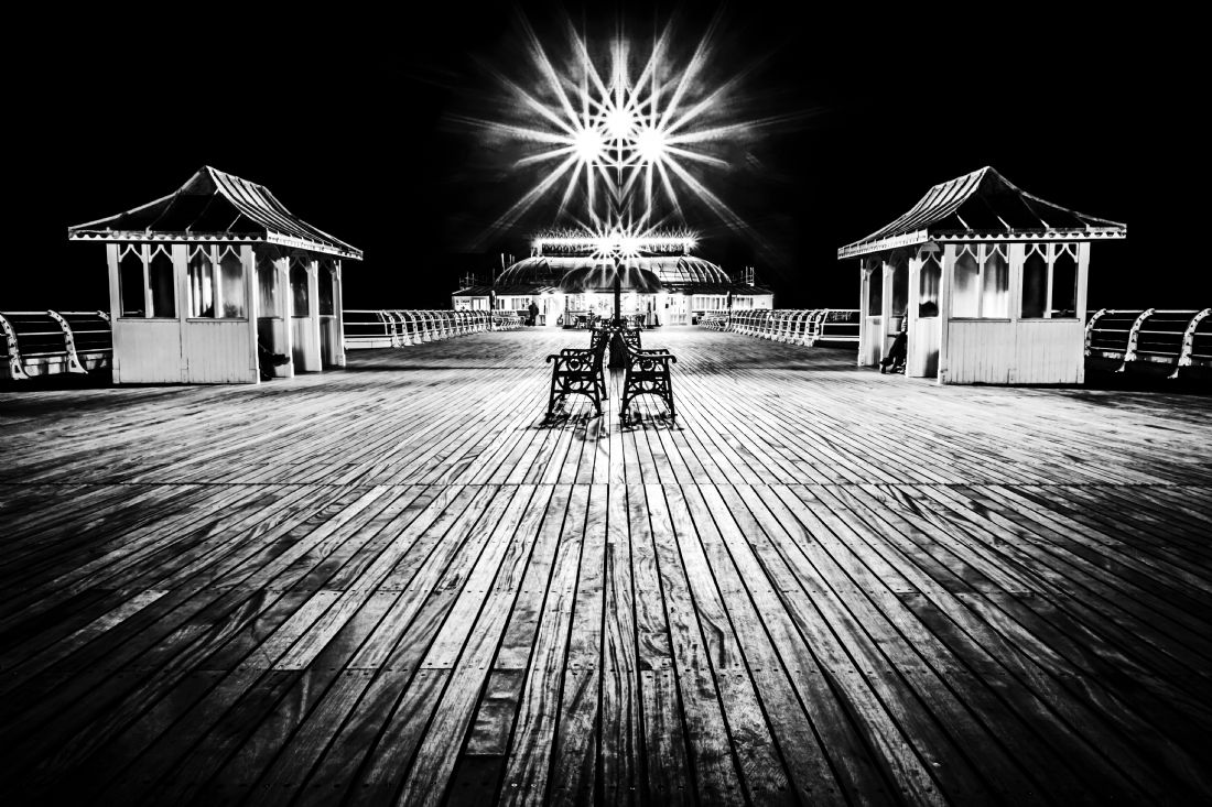 Paul Macro | Cromer Pier at Night