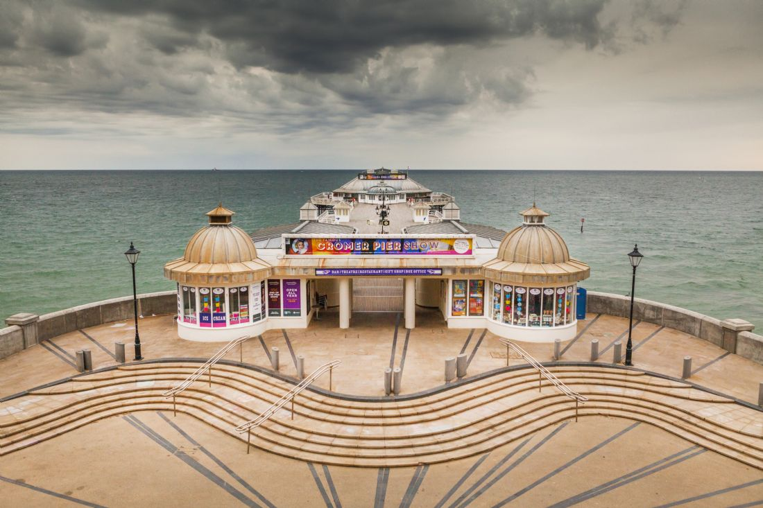 Paul Macro | Summer Over Cromer Pier
