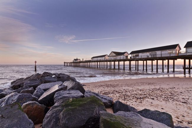 Paul Macro | Dusk at Southwold Pier
