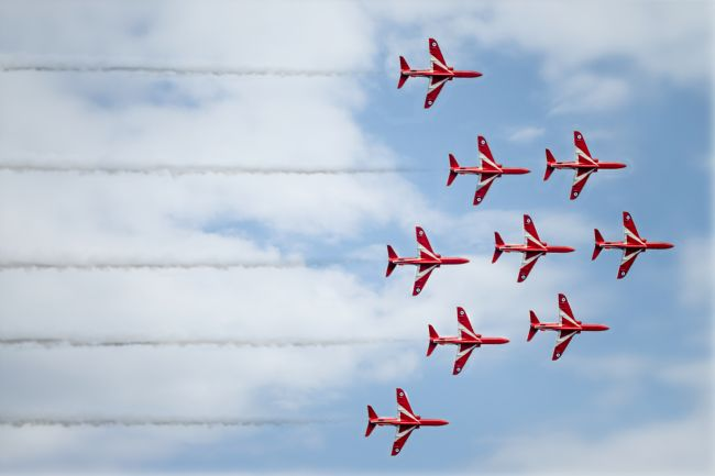 A Blakey | The Red Arrows DISPLAY TEAM