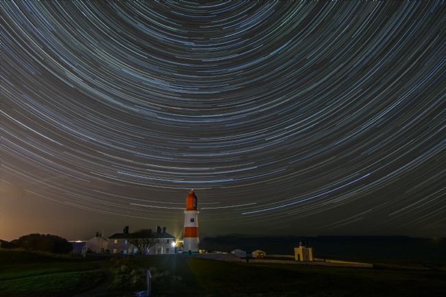 A Blakey | Stars over Souter Lighthouse