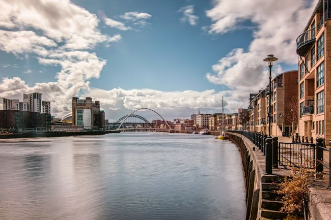 A Blakey | Up the tyne