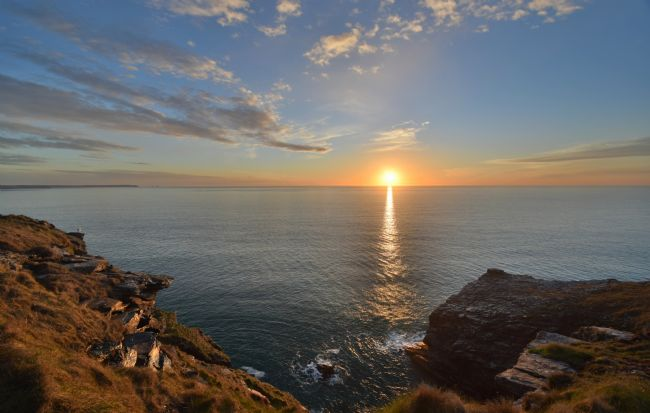 Robert Parsons | Cornwall: Tintagel Sunset