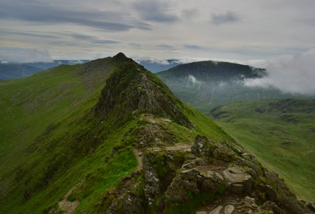 Robert Parsons | The Lake District: On Striding Edge