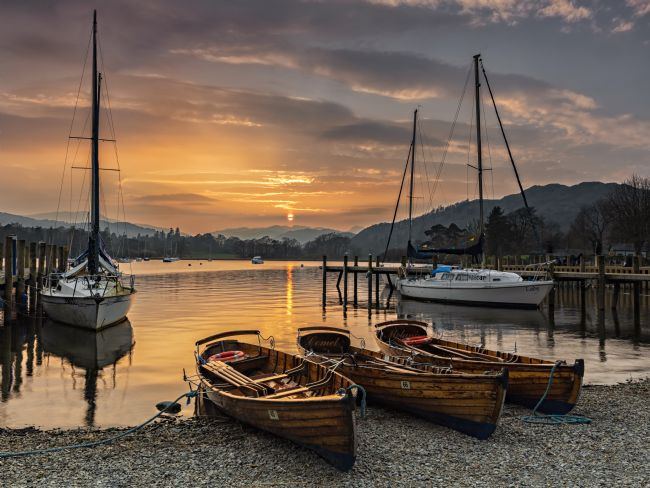 Reg Atkinson | Waterhead Sunset