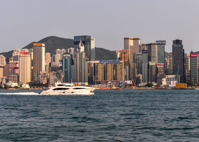 Mike Carroll | Hong Kong Harbour Cruise