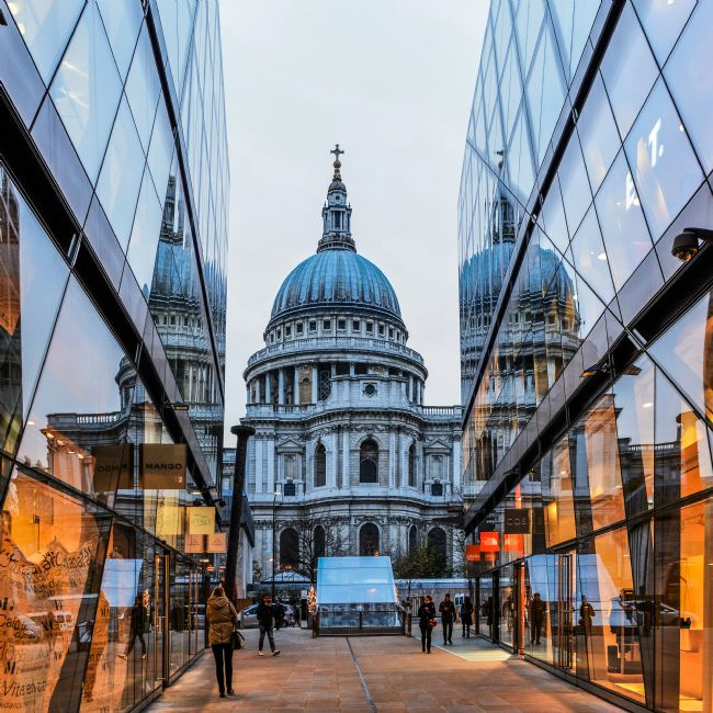 Mike Carroll | St Paul's Cathedral from One New Change