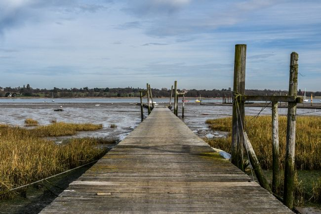 Mike Carroll | Jetty at low tide