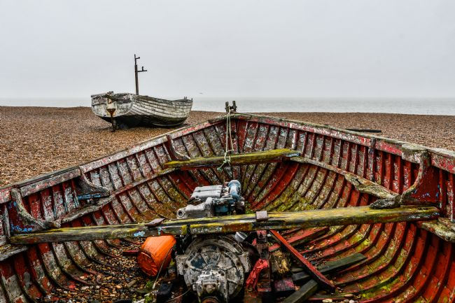 Mike Carroll | Beached Aldeburgh Fishing Boats